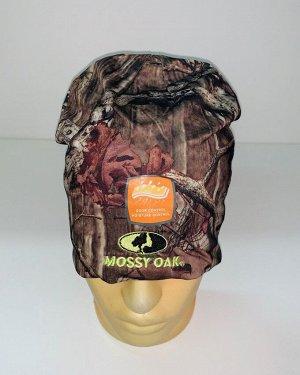 Шапка Топовая камуфляжная шапка Mossy Oak  №1736