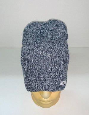 Шапка Серая привлекательная шапка  №1522