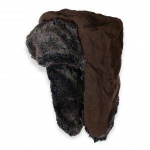 Шапка Шапка с удлиненными ушами  на искусственном меху - осенне-зимняя модель, удобная и практичная. №1843 ОСТАТКИ СЛАДКИ!!!!