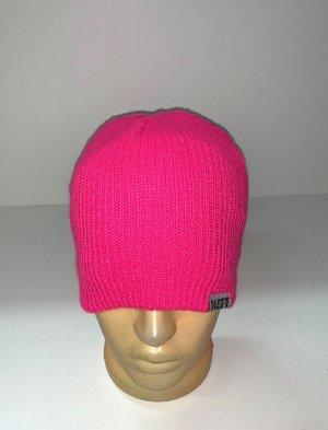 Шапка Яркая розовая шапка  №1856