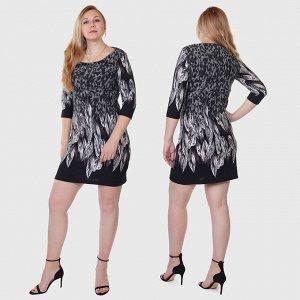 Платье туника Le Grenier в модном дизайне Анималистик. Ни единого намека на вульгарность, но сколько хочешь шарма и стиля №2211 ОСТАТКИ СЛАДКИ!!!!