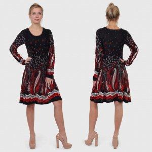 Винтажное демисезонное платье Damart. Умопомрачительное сочетание легкой небрежности и сексуальности №2025