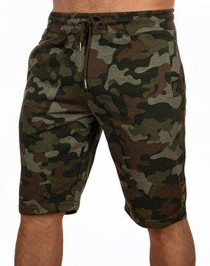 Хлопковые мужские шорты IZZUE – камуфляжная модель CCE Camo на удобной резинке. Универсальная вещь и на каждый день, и для армии №782 ОСТАТКИ СЛАДКИ!!!!