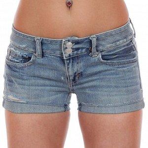Джинсовые шорты модного бренда для ТОЙ САМОЙ! О тебе мужчины будут  говорить: «Ну, та, в секси шортиках...» №275 ОСТАТКИ СЛАДКИ!!!!