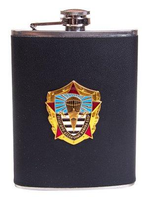 Карманная фляжка десантнику ВДВ СССР - достойный подарок, лучшая цена, оригинальная накладка