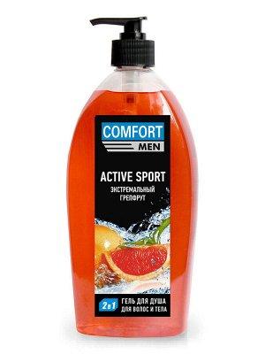 Гель для душа ACTIVE SPORT Экстремальный грейпфрут, 400 мл.