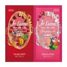 """Увлажняющий шампунь и тритмент для сухих и окрашенных волос Kose Cosmeport """"JE L'AIME"""" пробник 10мл + 10мл"""