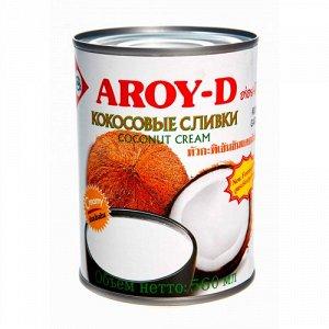 Кокосовые сливки 20-22%, AROY-D, Таиланд, 560 мл