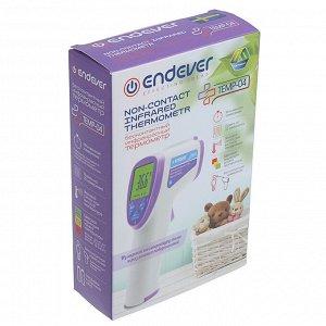 Термометр электронный Endever TEMP-04, инфракрасный, бесконтактный, точность 0.2 °С, белый