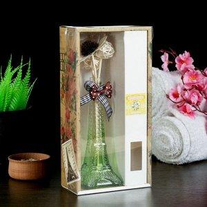 """Набор подарочный """"Эйфелева башня"""" (ваза, 2 палочки с шариками, декор, аромамасло 30 мл), аромат жасмин"""