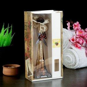 "Набор подарочный""Эйфелева башня""(ваза,2 палочки с шариками,декор,аромамасло 30 мл), кофе"
