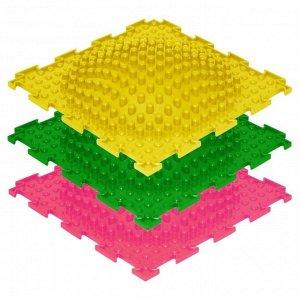 Массажный коврик 1 модуль «Орто. Островок жёсткий», цвета МИКС