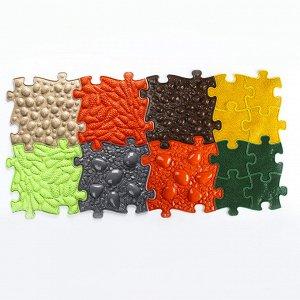 Детский массажный коврик Тропинка 2, 14 модулей, цвет Микс