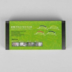 Маска для защиты лица при стрижке чёлки, сменные маски - 50 шт, 9 ? 18,5 см, цвет МИКС