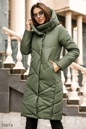 Уютная стеганая куртка