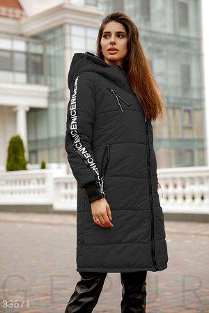 Куртка с разрезами на рукавах