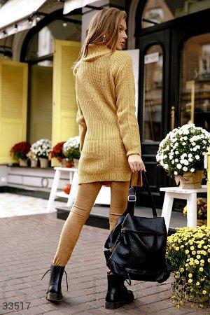Уютный вязаный свитер