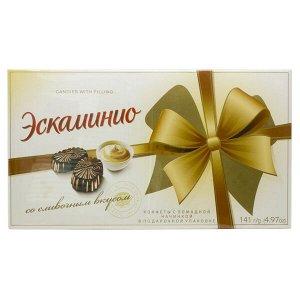 Конфеты Эскаминио со сливочным вкусом 141 г Спартак 1 уп. х 9 шт.