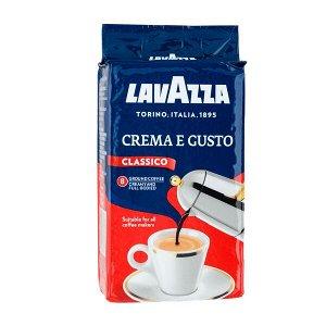 Кофе Лавацца Крема Густо молотый 250г в/у
