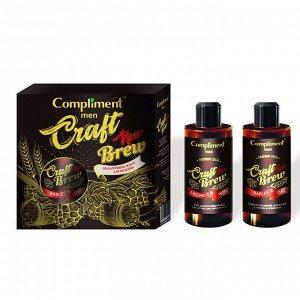 Набор №1780 Compliment Men Craft Brew (шампунь /320 + очищающее средство д/лица и тела /320)