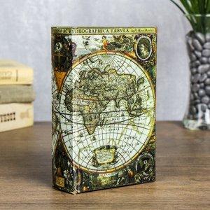 """Сейф-книга """"Карта первооткрывателей"""""""