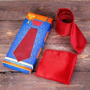 """Подарочный набор: галстук и платок """"На страже закона"""""""