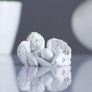 """Фигура """"Спящий ангел"""" 7.5х6х3.5см"""