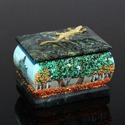 Волшебные шкатулки из натурального камня