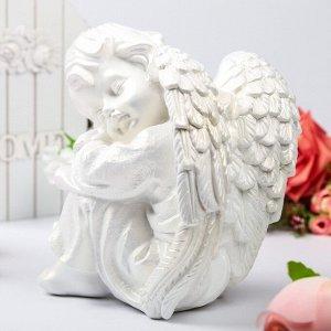 """Статуэтка """"Ангел спящий"""", белая, 24 см"""