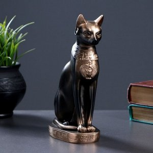 """Фигура """"Кошка египетская"""" 20см бронза"""