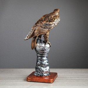 """Статуэтка """"Орёл на перчатке"""" 37 см, микс"""
