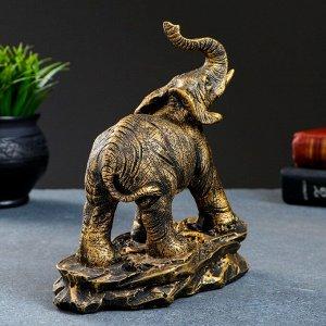 """Фигура """"Слон """" бронза 17х9х19см"""