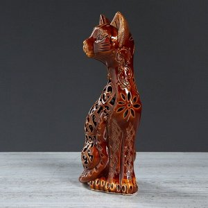 "Статуэтка ""Кот"". резка. 32 см"