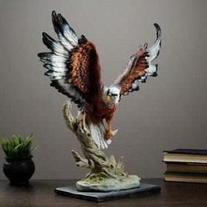 """Фигура """"Орел летящий"""" темно-коричневый 54х46см"""