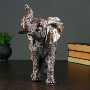 """Фигура """"Слон"""" бронза 29х30х15см"""