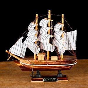 Корабль сувенирный малый «Акару», 20 ? 4,5 ? 19 см