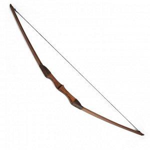 """Сувенирное деревянное оружие """"Лук спортивный"""". подростковый. коричневый. массив ясеня. 120 см"""