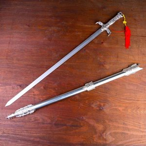 Меч, металл эфес две дуги, 98 см