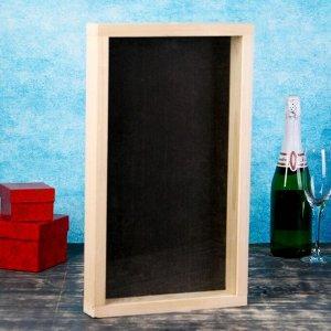 Накопитель для пробок, 48х28х5см, ХВОЯ с обычным стеклом