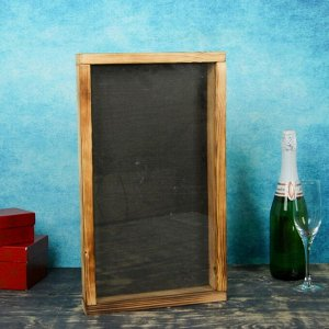 Накопитель для пробок, 48х28х5см, ХВОЯ, термо с обычным стеклом