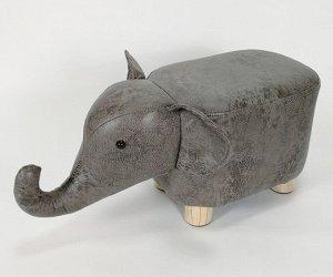 Пуфик из эко кожи Слон