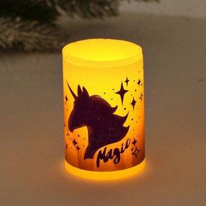 Электронная свеча «Magic», 5 х 7 см