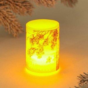 Электронная свеча «Тепла», 5 х 7 см