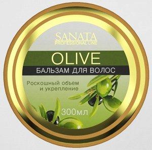 """Бальзам для волос """"Olive"""" Роскошный объем и укрепление 300 мл."""