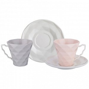 Чайный набор на 2 персоны, 4 пр., 200 мл. (кор=20набор.)
