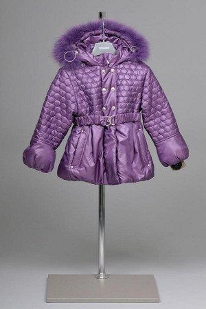 Зимняя куртка для девочки с капюшоном, ТМ ШАЛУНЫ