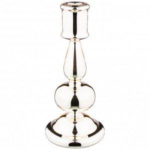 Подсвечник коллекция 'переливы света' диаметр=10 см,высота=22 см (кор=32шт.)