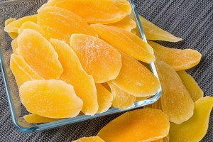 Манго оранжевый (цукаты)