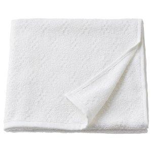 NÄRSEN НЭРСЕН Банное полотенце, белый 55x120 см