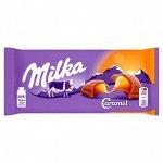 Шоколад Милка Milka Caramel,100 гр